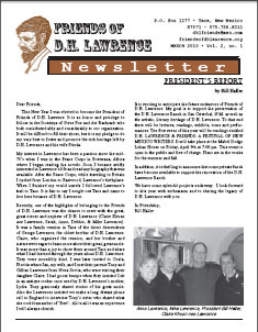 Newsletter: March 2010